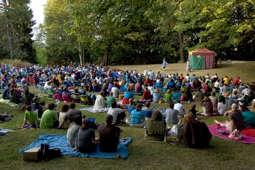Auditions for Shakespeare in the Park