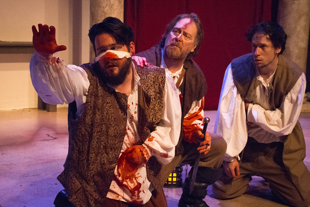 Here comes the blood! Hard Bard opens tonight!