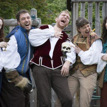 Pics in: meet the Backyard Bard cast