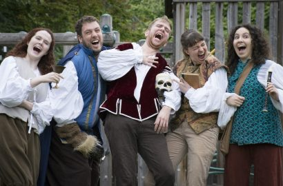 Pics in: meet the Backyard Bard cast