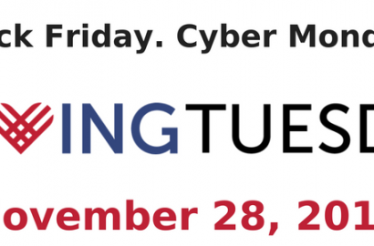 Celebrate Giving Tuesday November 28