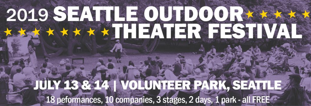 Seattle Outdoor Theater Festival 2019